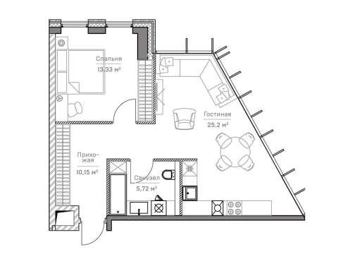 Клубный дом Mitte (Митте)
